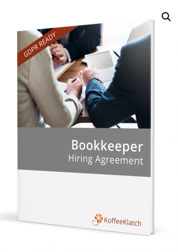 Bookkeeper Hiring Agreement