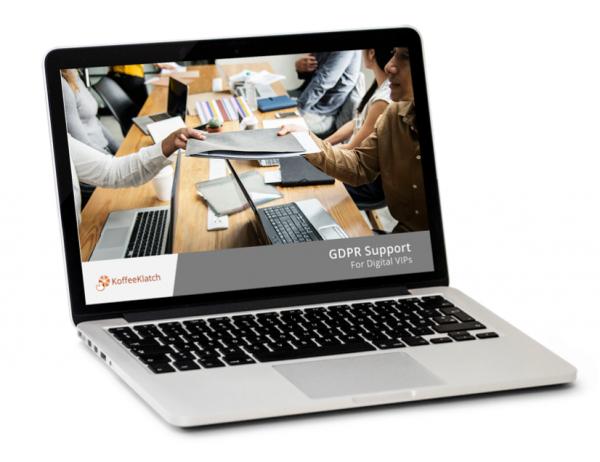 GDPR for Digital Services