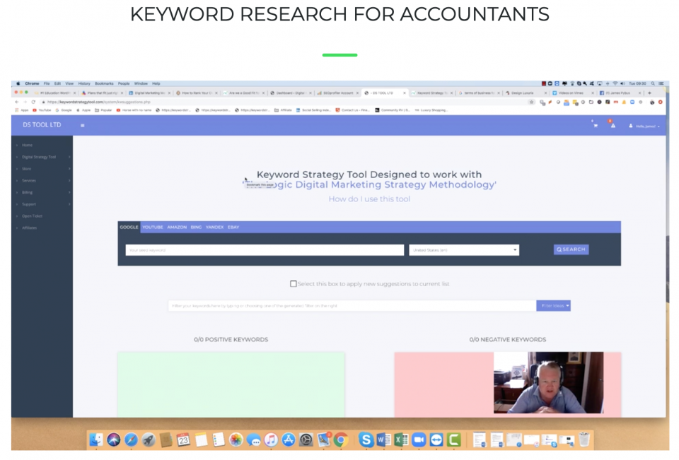 Keyword Research for Accountants